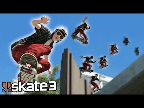 Skate 3: GRINDING THE BILLBOARD?! | Epic Challenges!