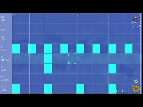 画像2: 10 クラップを入れてみる バレッドプレス KORG Gadget for Nintendo Switch講座 www.youtube.com