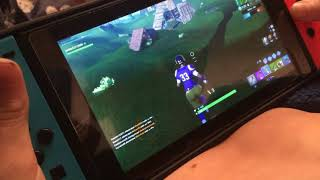 Fortnite battle  ROILAE victory rowel part 2 Nintendo switch gameplay