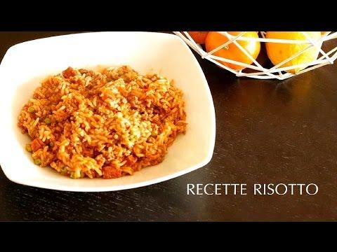 recette-risotto-boeuf,-tomate,-chorizo-et-petit-poids-avec-instant-pot