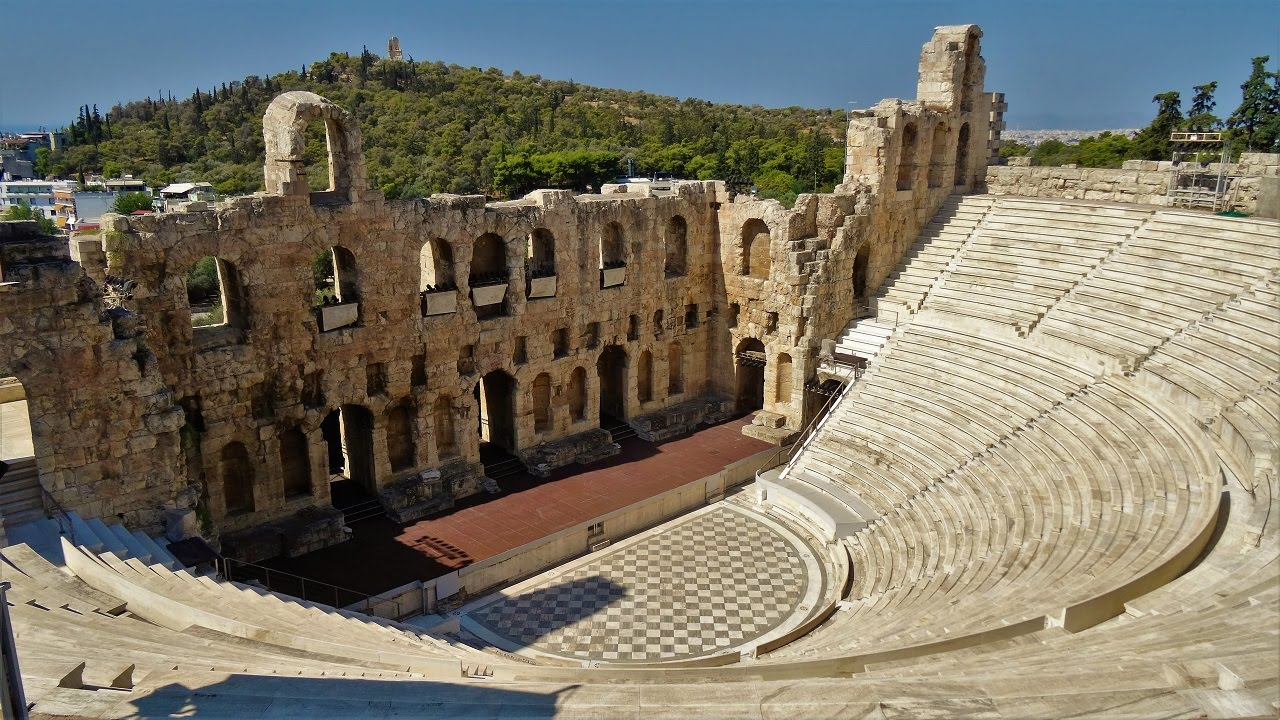 Odeon of Herodes Atticus, Acropolis of Athens - YouTube