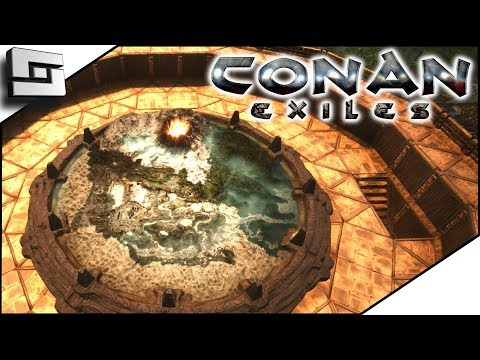 Conan Exiles Gameplay - THE MAP ROOM! Unlocking and Building! E14