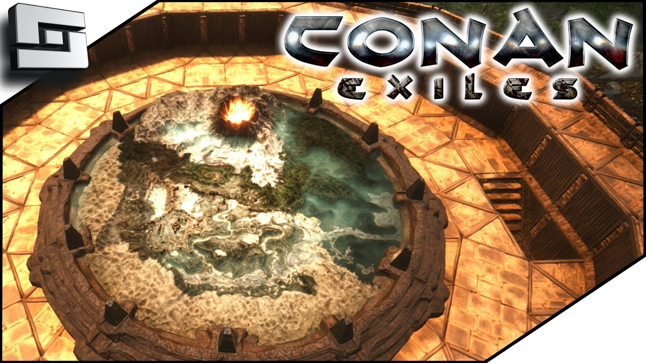Conan Exiles Gameplay The Map Room Unlocking And