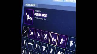 *NEW* Squat Kick Emote Fortnite In Real Life [LEAKED]