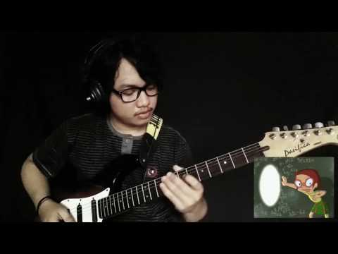 Chalk Zone OST Versi Indonesia (Intro) Guitar Cover by Mario Arnoldi