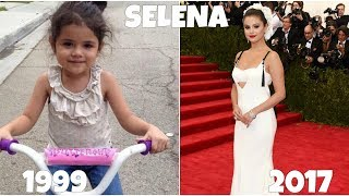 Selena gomez from 1 to 25 years old. in this clip we are showing you how looked before and after she became famous.