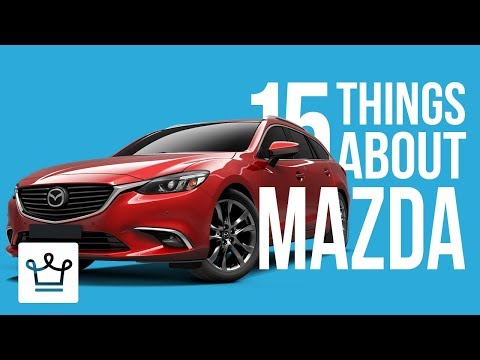 15 Things You Didn t Know About MAZDA