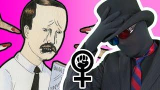Idiot MRA Becomes Idiot Feminist