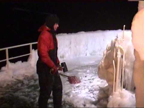 Rav  Icy condition, Barents sea.