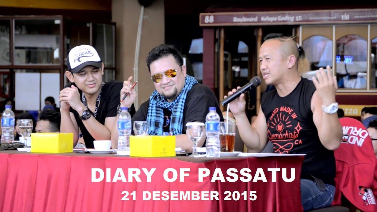 komentar sandy pasband tentang passatu band vlog 1 diary of passatu ikt festival