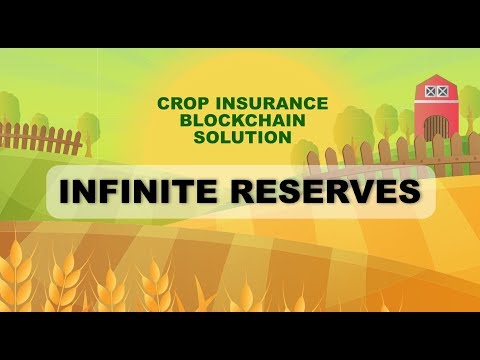 Infinite Reserves Agricultural Insurance Blockchain Solution with Satellites (Technical Video)