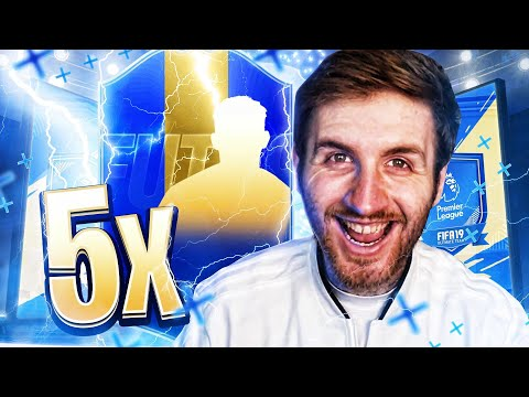 5 X GUARANTEED EPL TOTS PACKS!