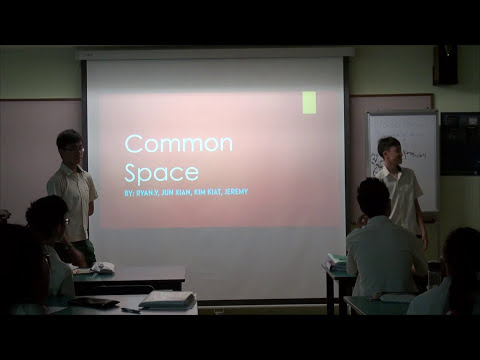 Social Studies - Bonding Singapore (Common Space)