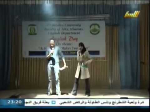 English Day 1_ Apr. 2009 _ Faculty of Arts _ Misurata University, Libya.