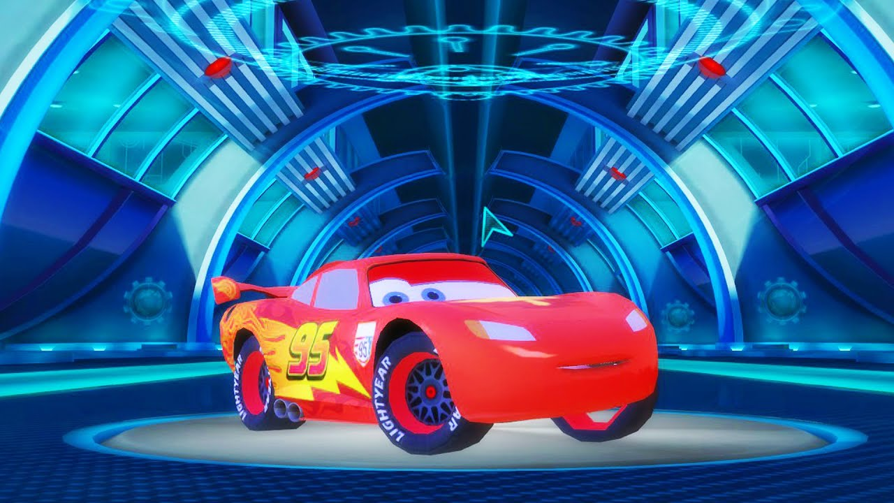 Flash mcqueen disney pixar cars 2 course sur circuit - Flash mcqueen film gratuit ...