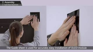 LG's Wallpaper OLED Signage Installation Guide (55EJ5C)