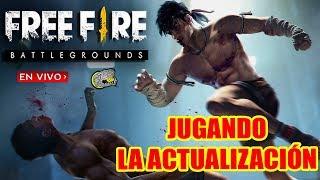 🔴 Ya esta aquí la Actualización Completa - Free Fire - Personaje, Rafaga 2.0, Nueva Habilidad y Más