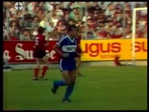 12 juin 1987 Neuchâtel Xamax - FC Aarau 2-1 La fête!!!!!
