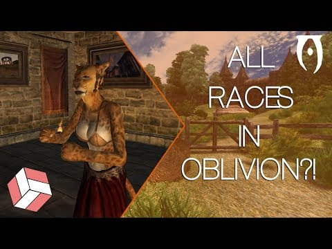 Oblivion -  All Playable Races In Oblivion and Their Stats!