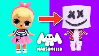 😵MARSHMELLO with CUSTOM LOL SURPRISE DOLLS - Toy Transformations