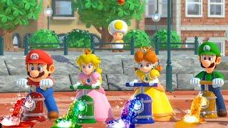 Super Mario Party   Precision Gardening Mario vs Luigi vs Peach vs Daisy   Gamepartyhub