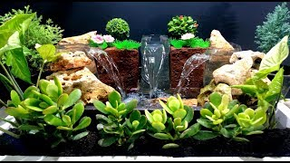 How to Make Triple Waterfall Fountain used plastic Bottles / DIY