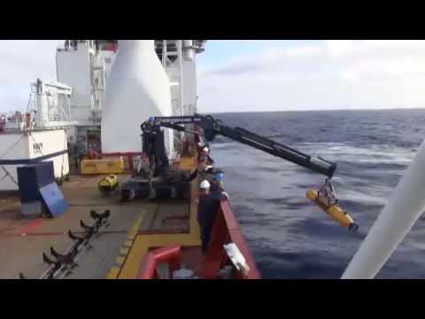 U.S. Navy AUV Bluefin 21 is deployed to search for MH370