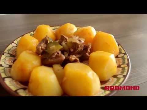 Суп из телятины в мультиварке