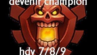 [Clash of clans] Comment monter champion hdv 7 hdv 8 et hdv 9