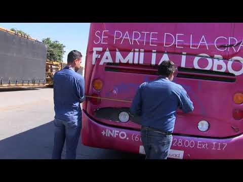 ¿Los camiones urbanos realmente caben en el nuevo malecón de Mazatlán?