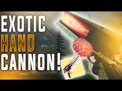 DESTINY 2 EXOTIC ENERGY HAND CANNON GAMEPLAY! (New Weapon System, SMG, Grenade Launcher & More!)