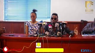 Wasanii DIAMOND PLATNUMZ na NANDY waomba msamaha mbele ya TCRA/ Diamond: Mimi ni bingwa wa KIKI