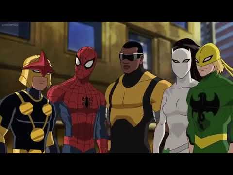 Ultimate SpiderMan in Hindi S 3 Ep 2  The Avenging Spiderman part 2