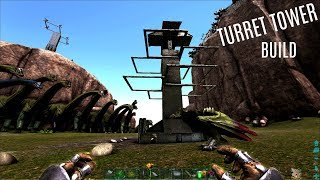 NEW RAGNAROK ARENA w/ Turret Tower Building - Official PVP (E27) - ARK Survival Gameplay