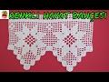 Çeyizlik Dantel Uç ve Kenar Örneği - Pike Takımı Danteli - Anlatımlı Yapılışı Oya El İşi