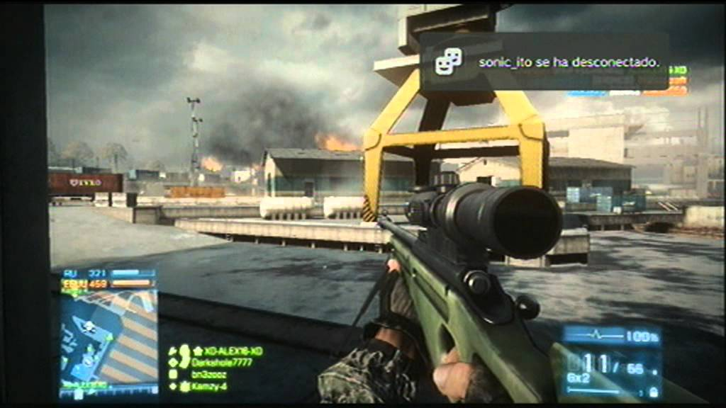 Partida Battlefield 3 PS3 Online - YouTube