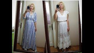распаковка SHEIN - 2 платья и рубашка - ТОВАРЫ НА ОБЗОР / Измир Турция
