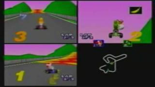 MK64 3-Player VS 150cc MJ(Toad) + VAJ(Yoshi) + Maurice(Peach) part 6