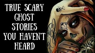 4 Scary True Ghost Stories (Tall & Dark Figures, Creepy Woods, Roads)