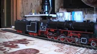 Модели железных дорог 1:87(Электровоз ЧС4т с вагоном ЦМВ. Паровоз ТЭ (индекс ТЭ обозначает