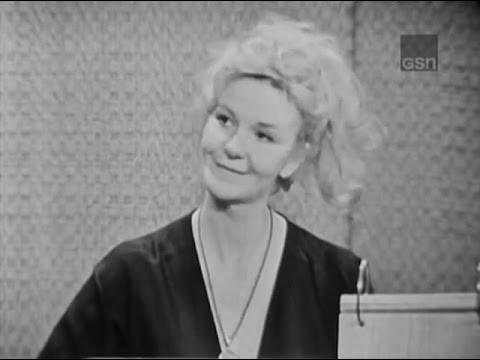 What's My Line? - Geraldine Page; Tony Randall [panel] (Jun 16, 1963)