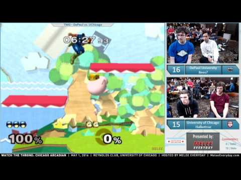 Chicago Arcadian - DePaul University vs. University of Chicago - SSBM - TMG Crew Battle