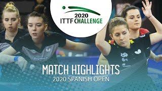 Кристина Казанцева / Мария Тайлакова vs Alba Fernandez / Ana G. | Spanish Open 2020 (R16)