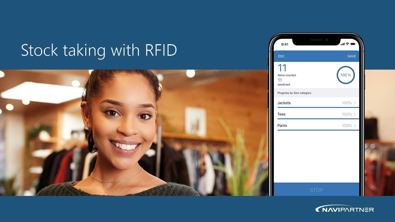 RFID boosts your inventory management