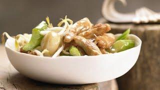 Овощное рагу с курицей пошагово. Курица с овощами китайский рецепт.