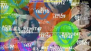 Agarz ffa 66 Rekor Denemesi 4.1m skor (bozuldu)