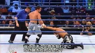 【WWE】タジリ VS ジェイミー・ノーブル 2003 1/9【SmackDown】