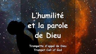 V1/16 Le Seigneur explique... L'humilité et la parole de Dieu ❤️ TROMPETTE DE DIEU