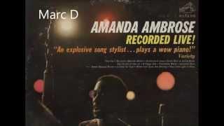 AMANDA AMBROSE - BESAME MUCHO - LP RECORDED LIVE - RCA VICTOR LPM 2696