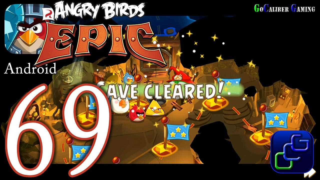 ANGRY BIRDS Epic Android Walkthrough - Part 69